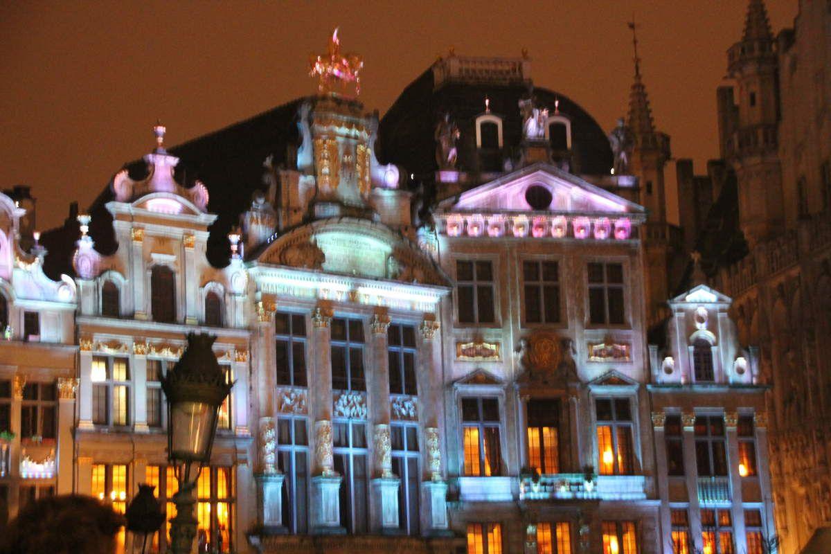 Madeleines de Noël - Les lumières de Noël à Bruxelles