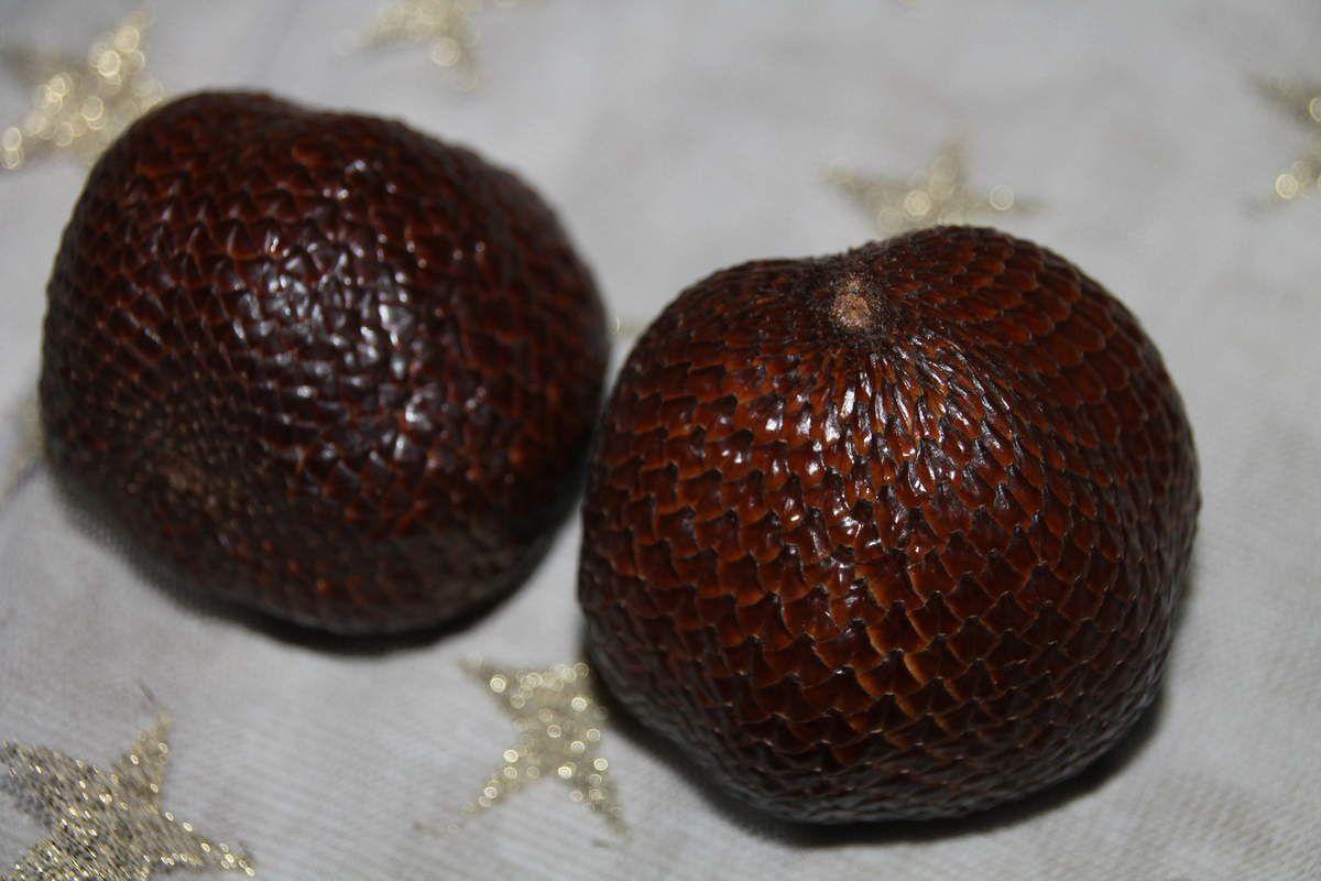 Tamarillos au sirop de thé agrumes et vanille