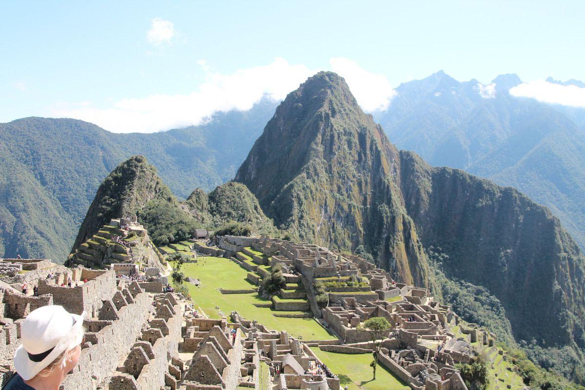 Figure emblématique du Pérou le Machu Picchu