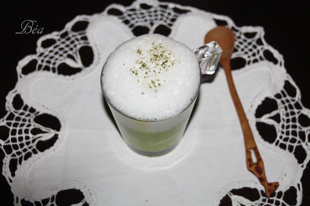 Latte matcha - Bataille Food # 52