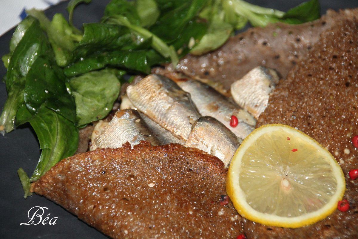 Galette aux sardines à l'huile - Balade à Pont Aven en automne