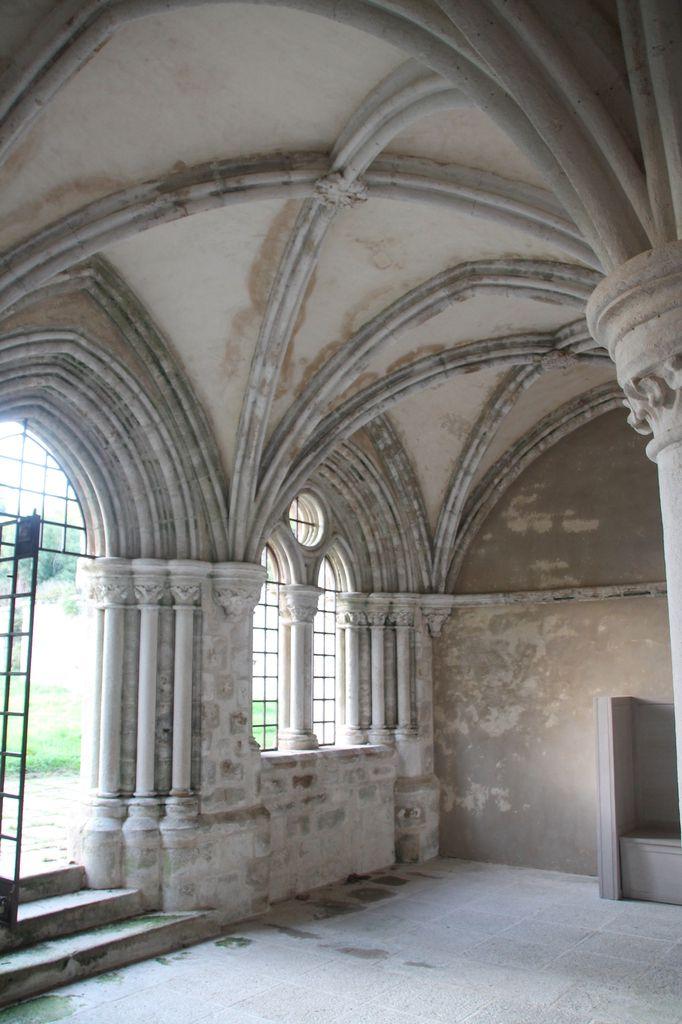 Flan aux pommes, lait ribot et lambig - Balade bretonne, l'Abbaye Saint Maurice à Clohars Carnoët