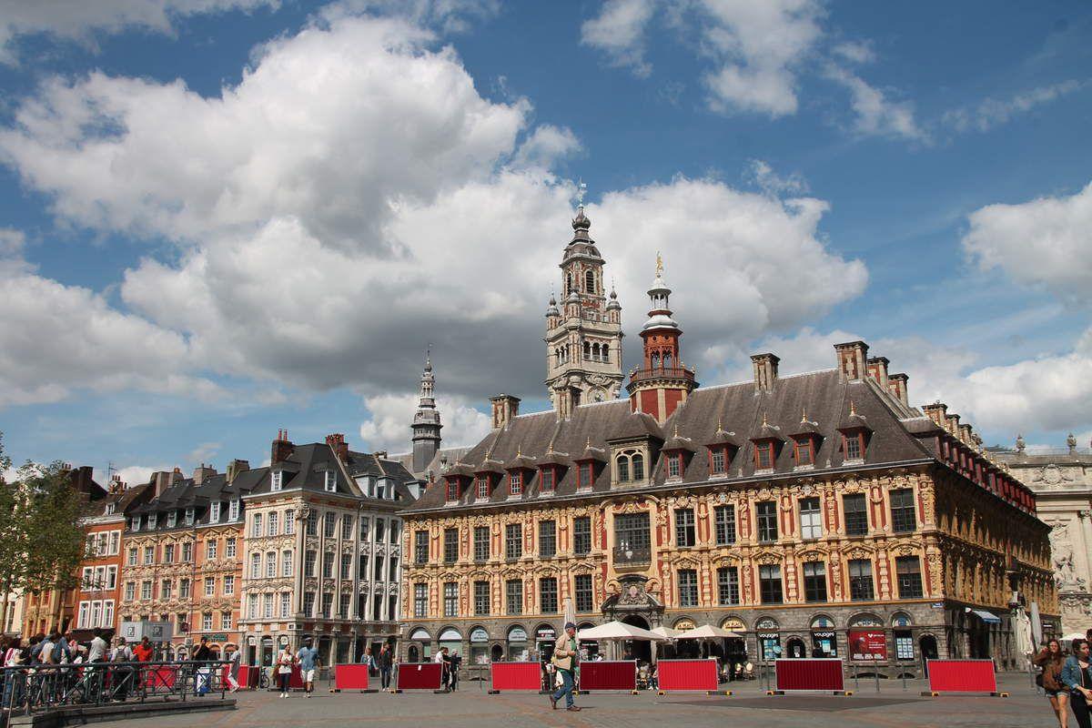 Lille : la Vieille  Bourse