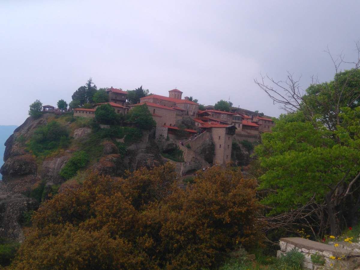 Salade Kepsidra - Grèce (9) - les Météores