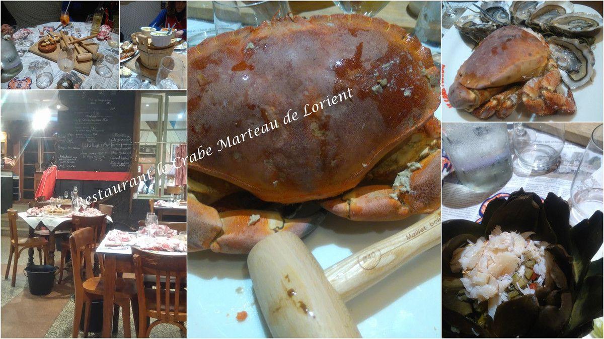 Artichaut farci au crabe comme au Crabe Marteau de Lorient