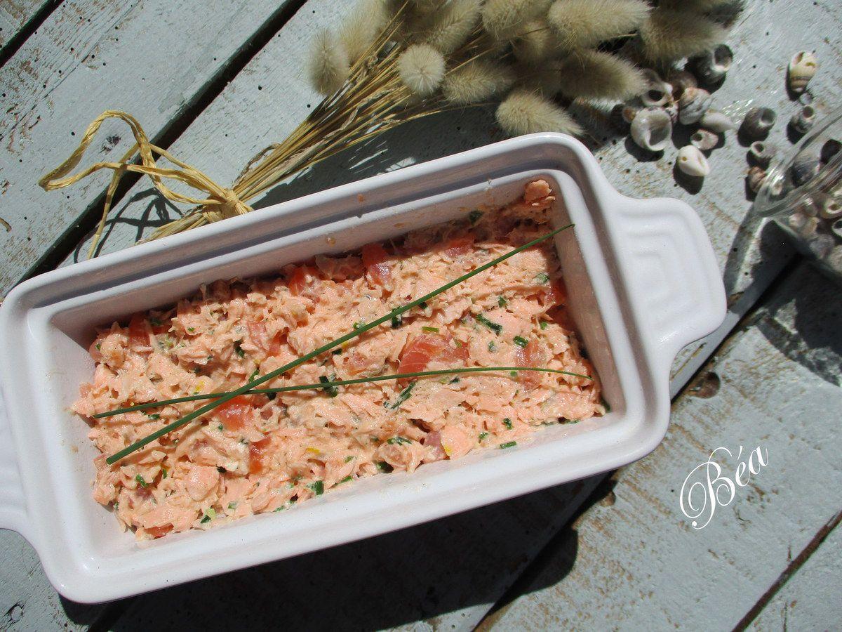 Rillettes de saumon à la Robuchon