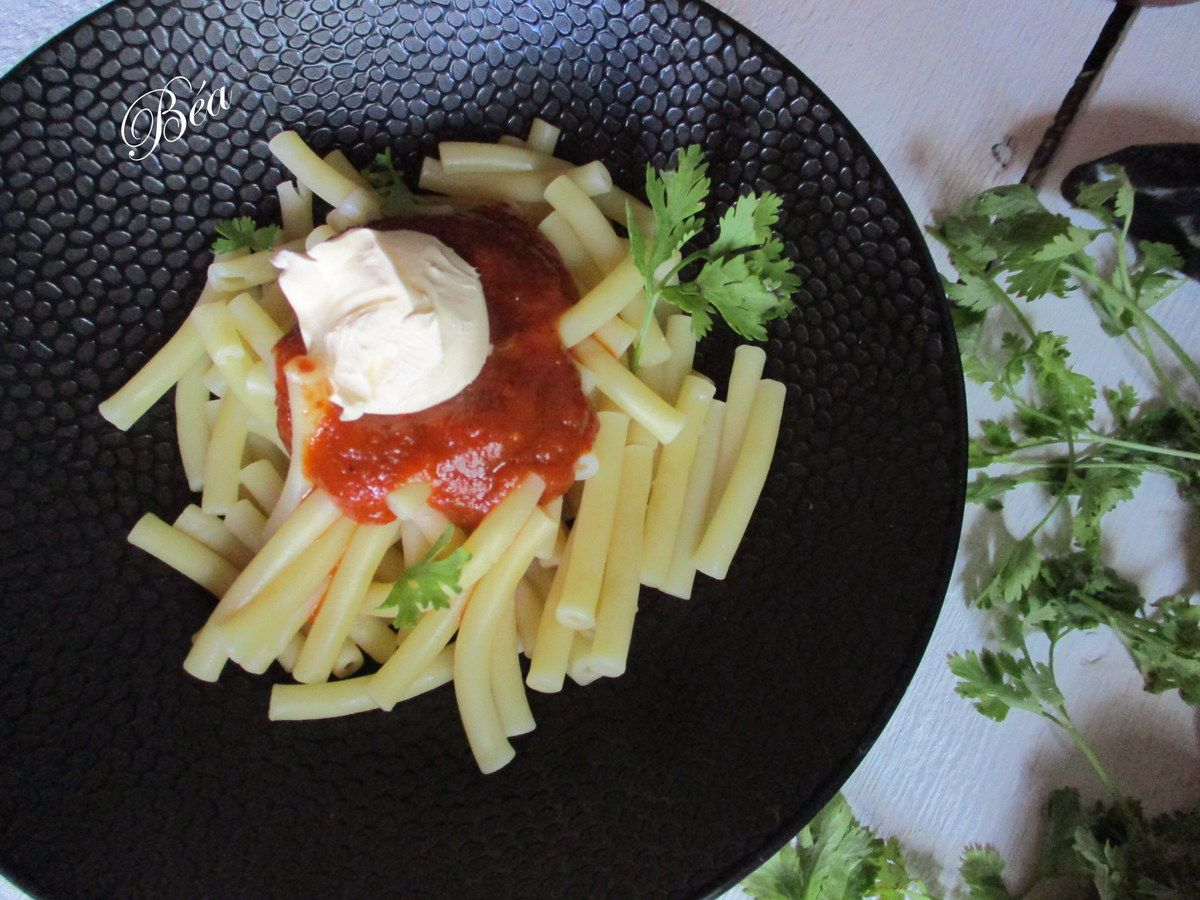 Ketchup à la coriandre et au piment d'Espelette