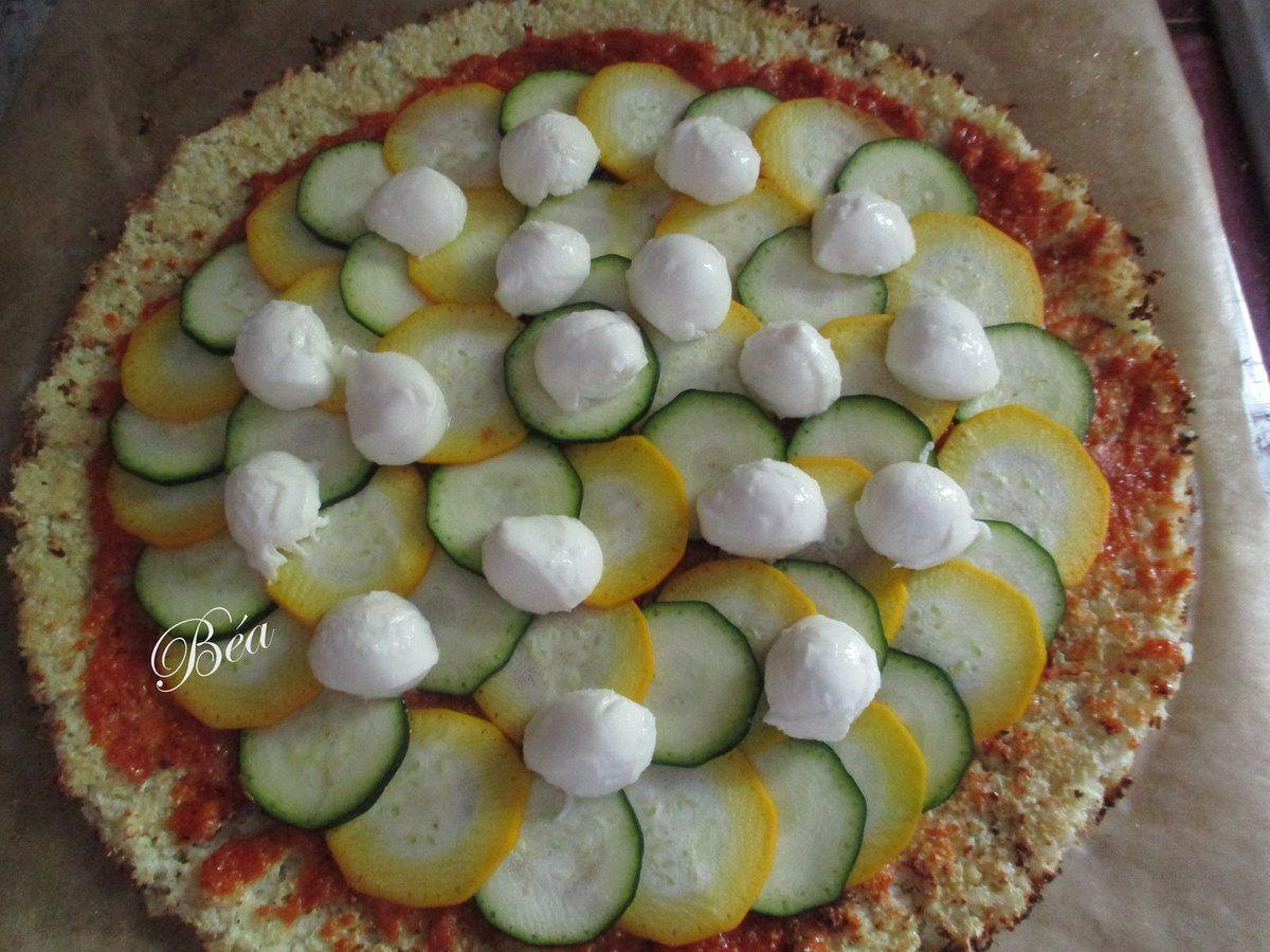 Pizza de chou fleur
