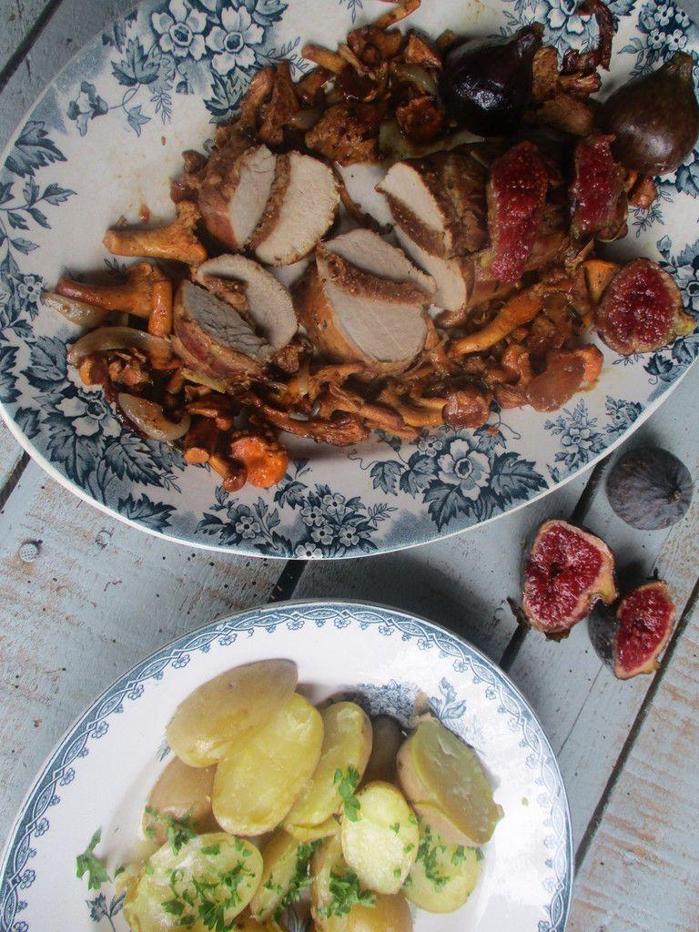 Filet mignon aux figues