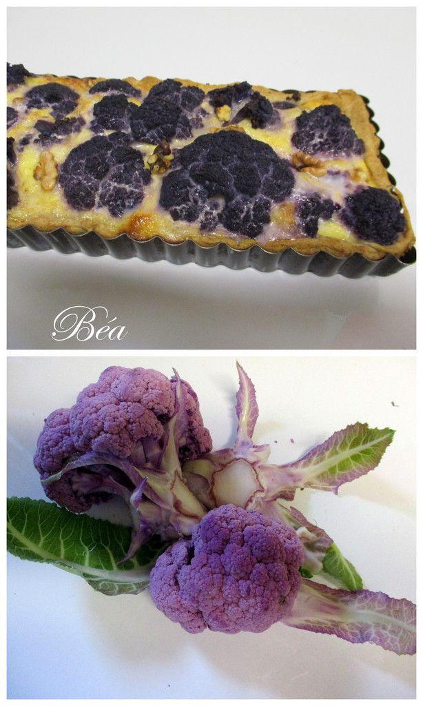 Tarte au chou fleur et au gorgonzola
