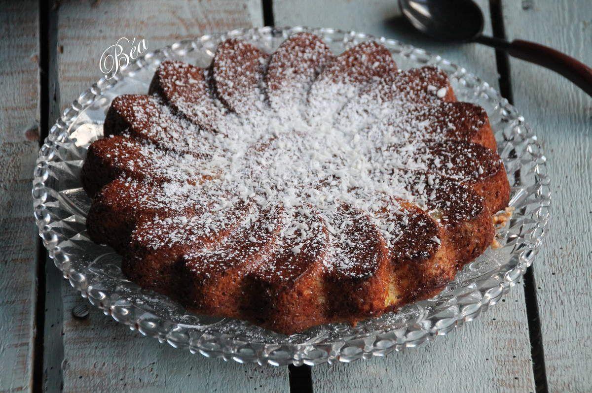 Gâteau coco ananas aux blancs d'oeufs