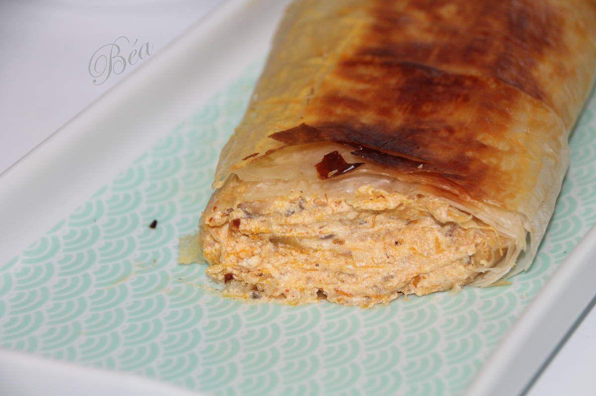 Bucnica au potiron et champignons - Balade croate