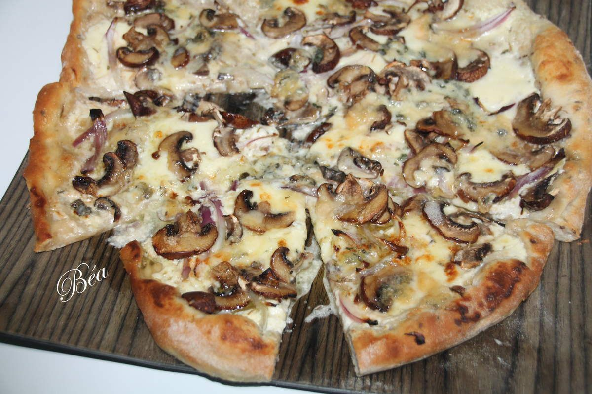 Pizza blanche d'hiver - balade à Matera