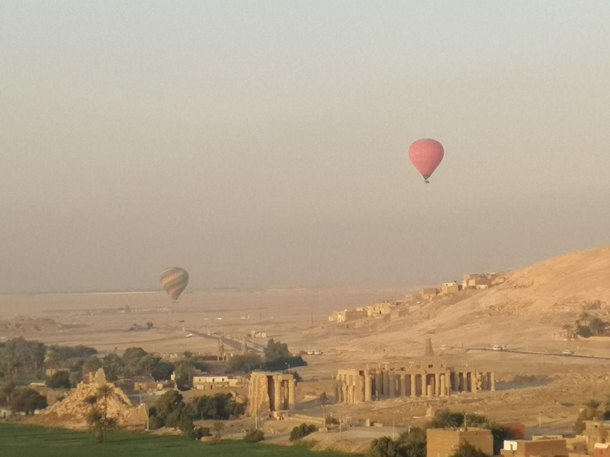 Kochari - Balade Egyptienne (2)  - La vallée des rois en montgolfière