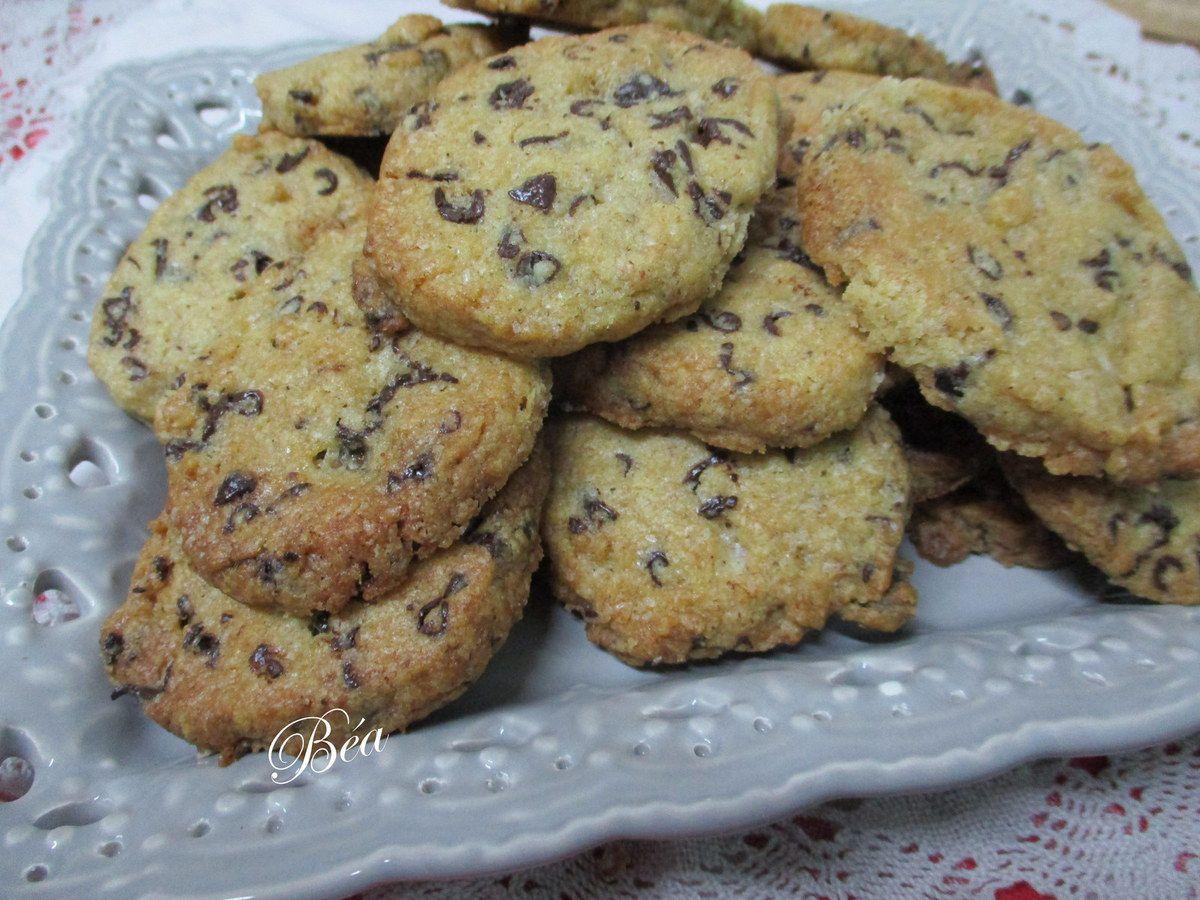 Biscuits au blé noir et au chocolat