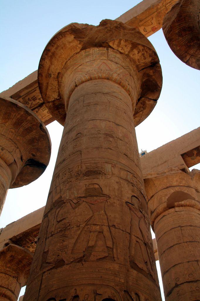 Poulet farci à l'égyptienne - Balade égyptienne (3) - Karnac