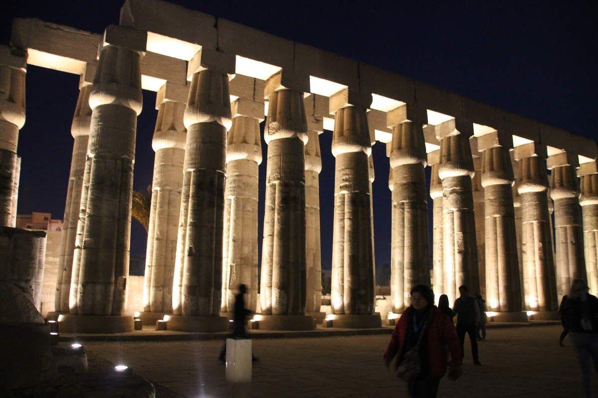 Boulettes de boeuf aux bamya  - recette égyptienne - balade égyptienne (4) le temple de Louxor
