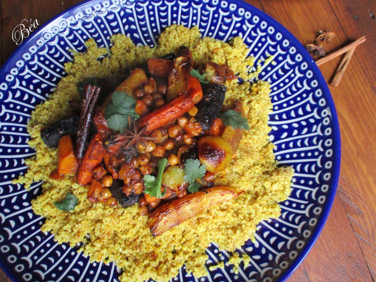 Le couscous végétarien de Yotam Ottolenghi