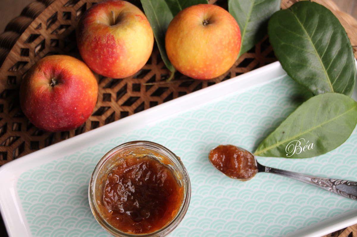 Confiture pommes et rhubarbe