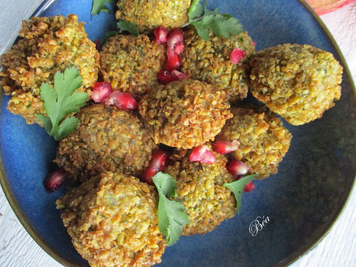Falafels sauce tahini ou sauce concombre - Balade égyptienne (6) Edfou