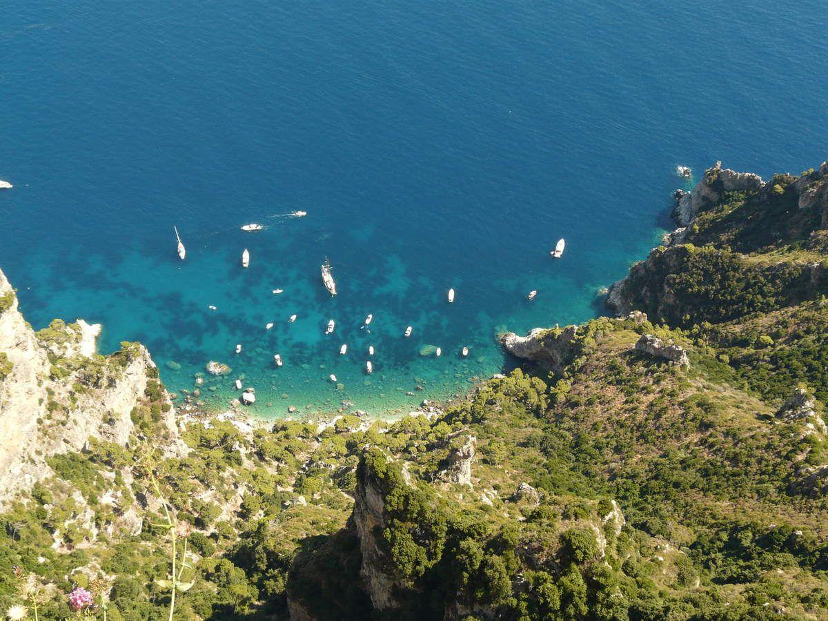 Tagliolina al limone aux moules (cuisine légère) - balade italienne à Sorento et Capri