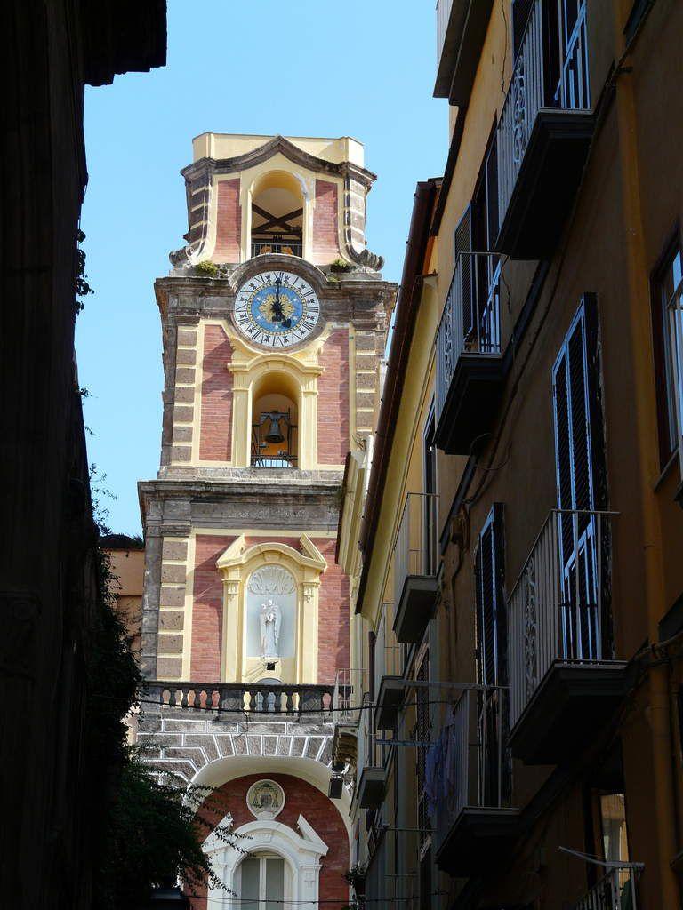 Sorento est une petite ville paisible proche de Naples