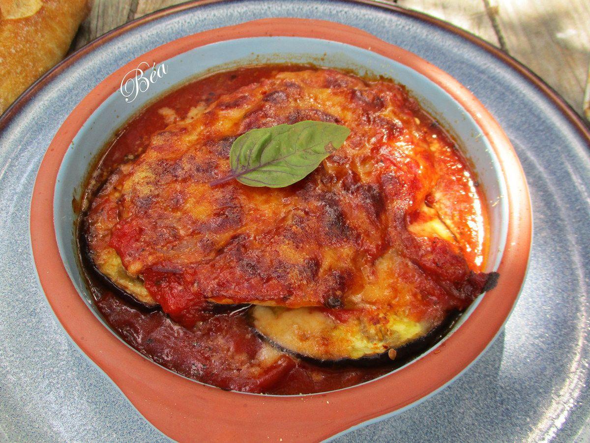 Grillade de veau à la parmigiana