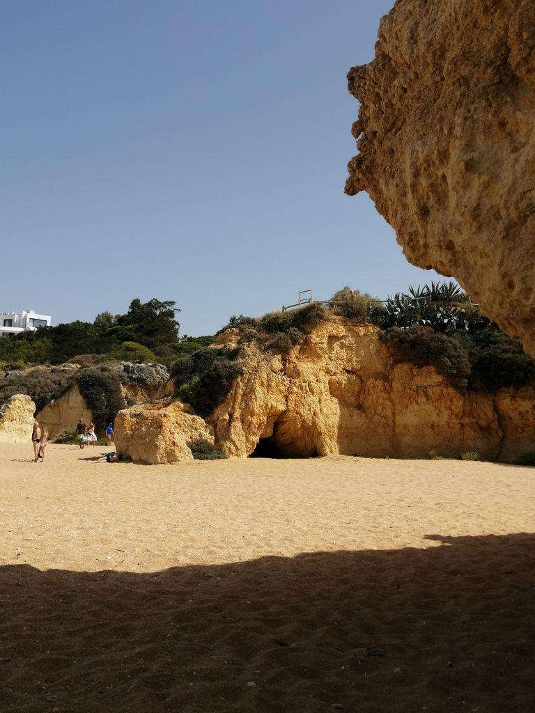 Salade portugaise à la morue - Balade portugaise en Algarve (2) le sentier du littoral