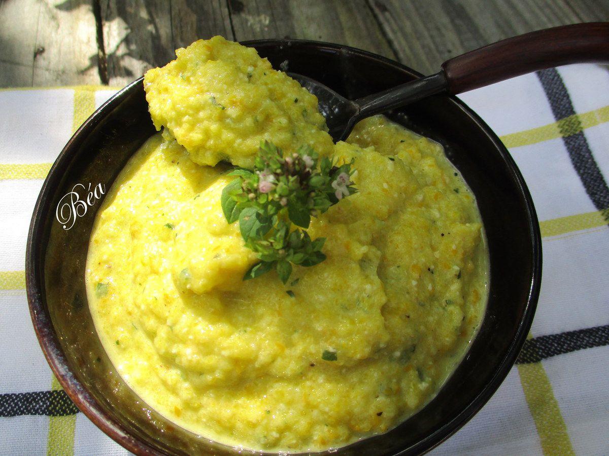 Pesto de courgettes jaunes et marjolaine pour un plat de pâtes parfumé et original