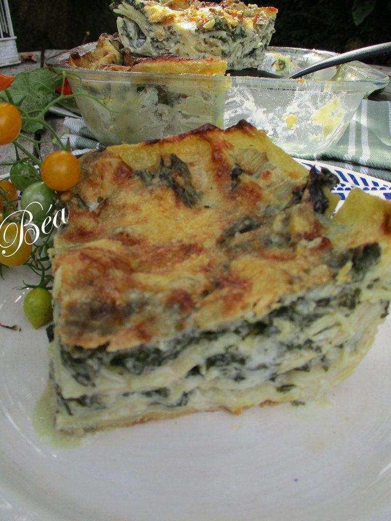 Lasagnes aux blettes et gorgonzola # Foodista challenge 55