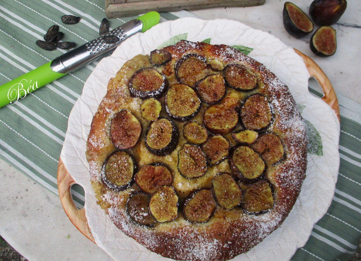 Pogne aux figues et à la fève tonka