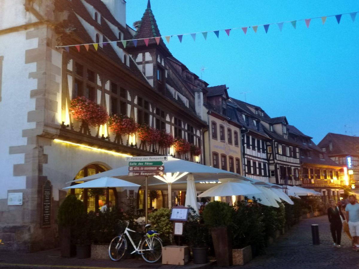 Tartine alsacienne - Balade alsacienne à Obernai