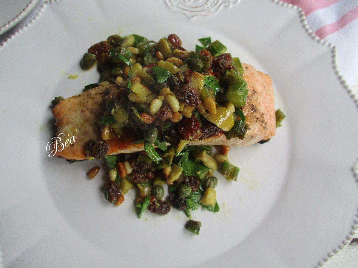 Le saumon grillé d'Ottolenghi pour Bridget Jones