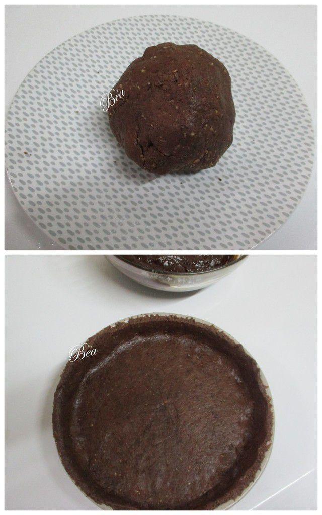 Tarte  brownie aux noisettes