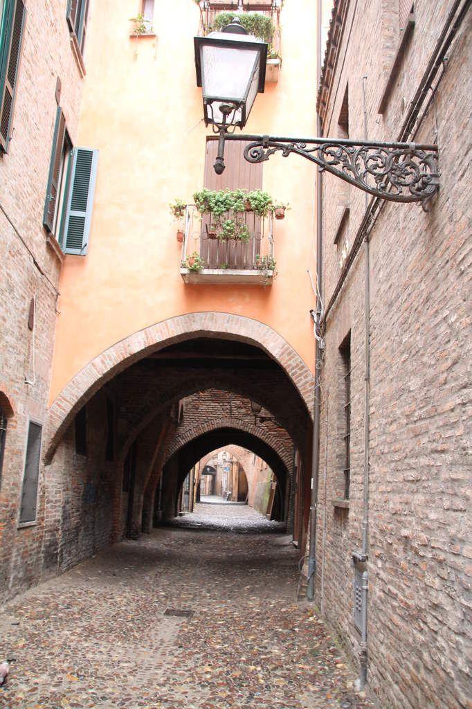 Cappellici di zucca  - balade italienne à Ferrara