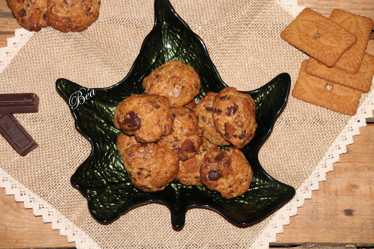 Cookies aux spéculoos - balade locale