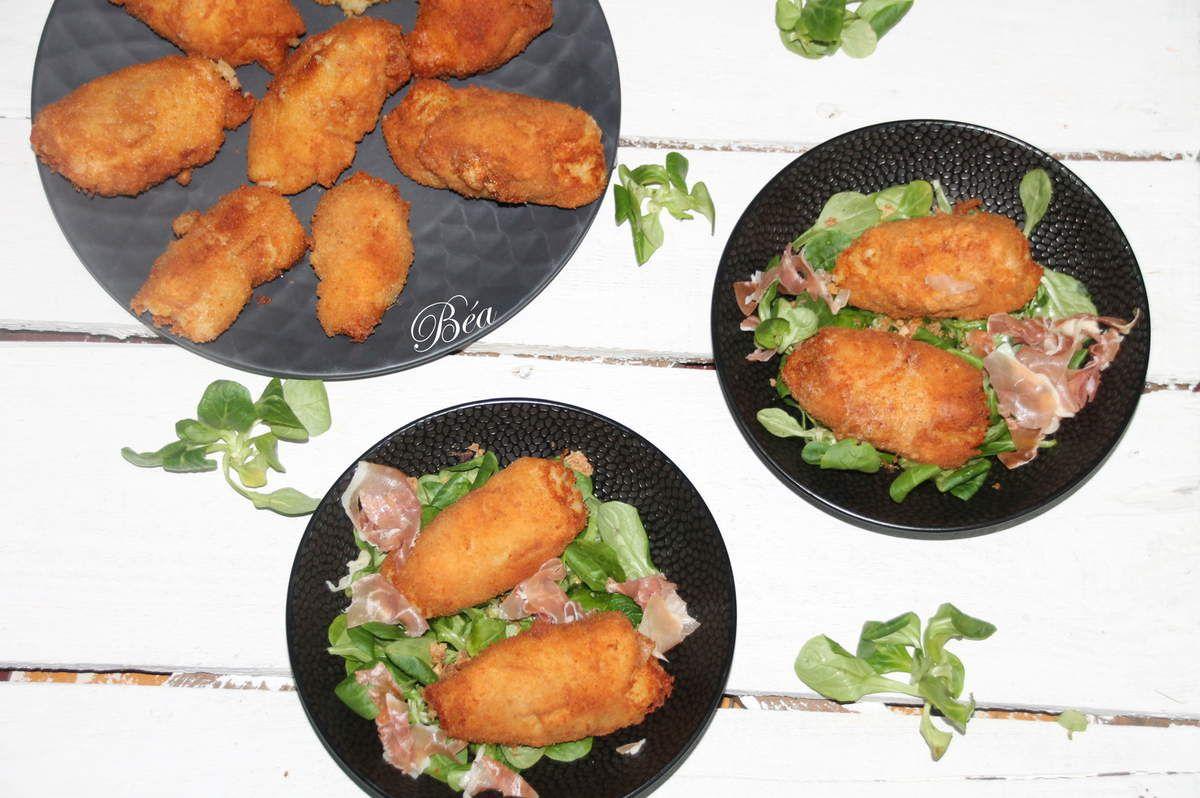 Croquettes de pommes de terre au Maroilles