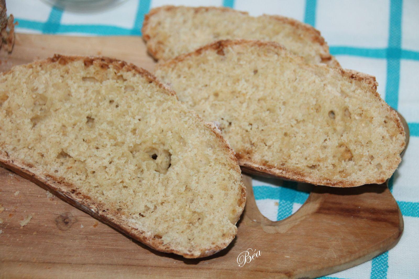 Soda bread irlandais en cocotte - Balade irlandaise