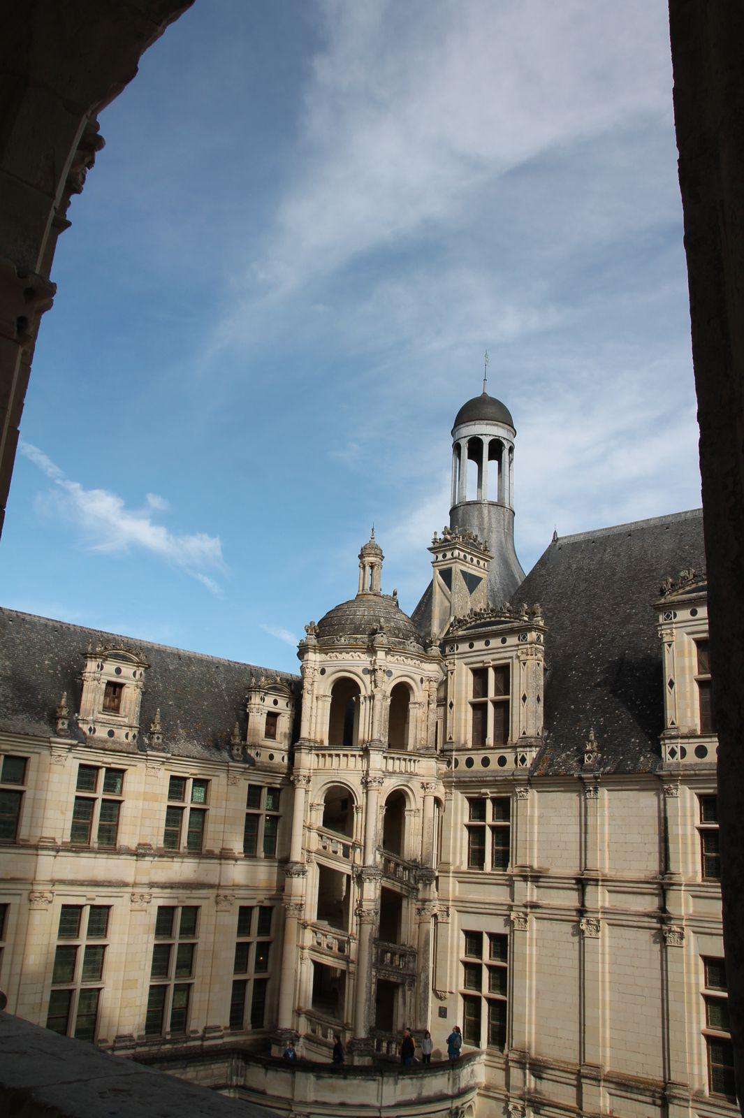Gratin de courgettes au sarrasin et au chèvre de Sainte Maure - balade en Pays de Loire : Chambord