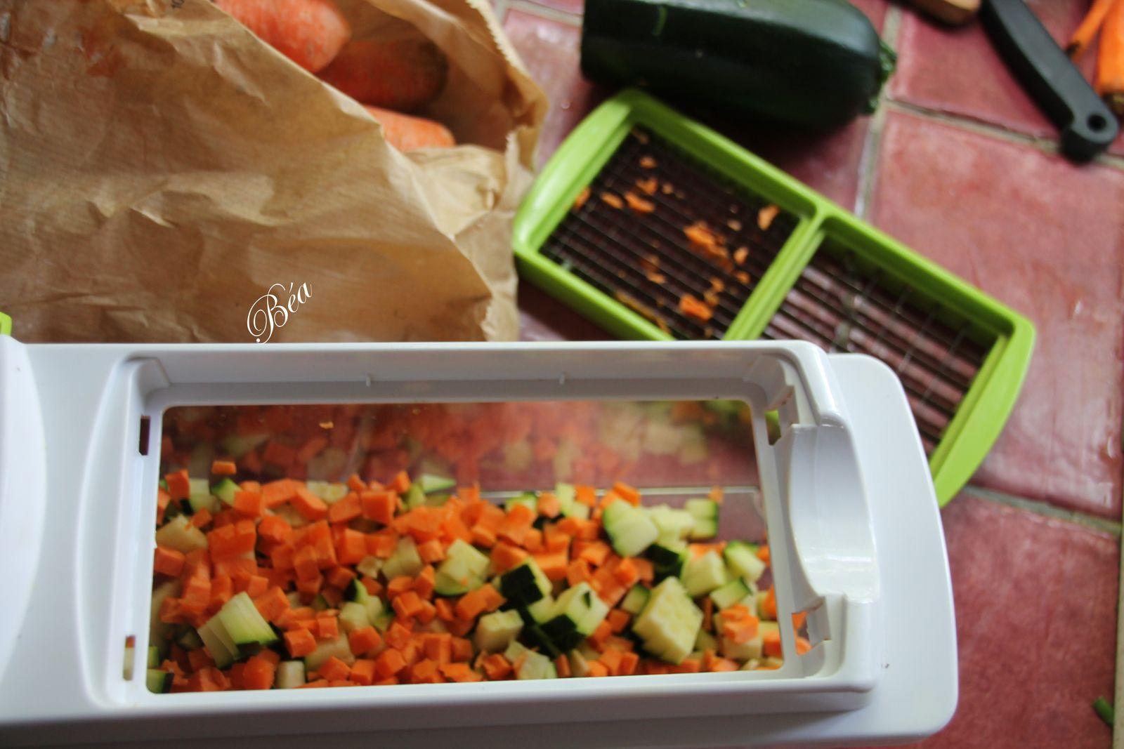 Fregola aux petits légumes sauce crémeuse au parmesan