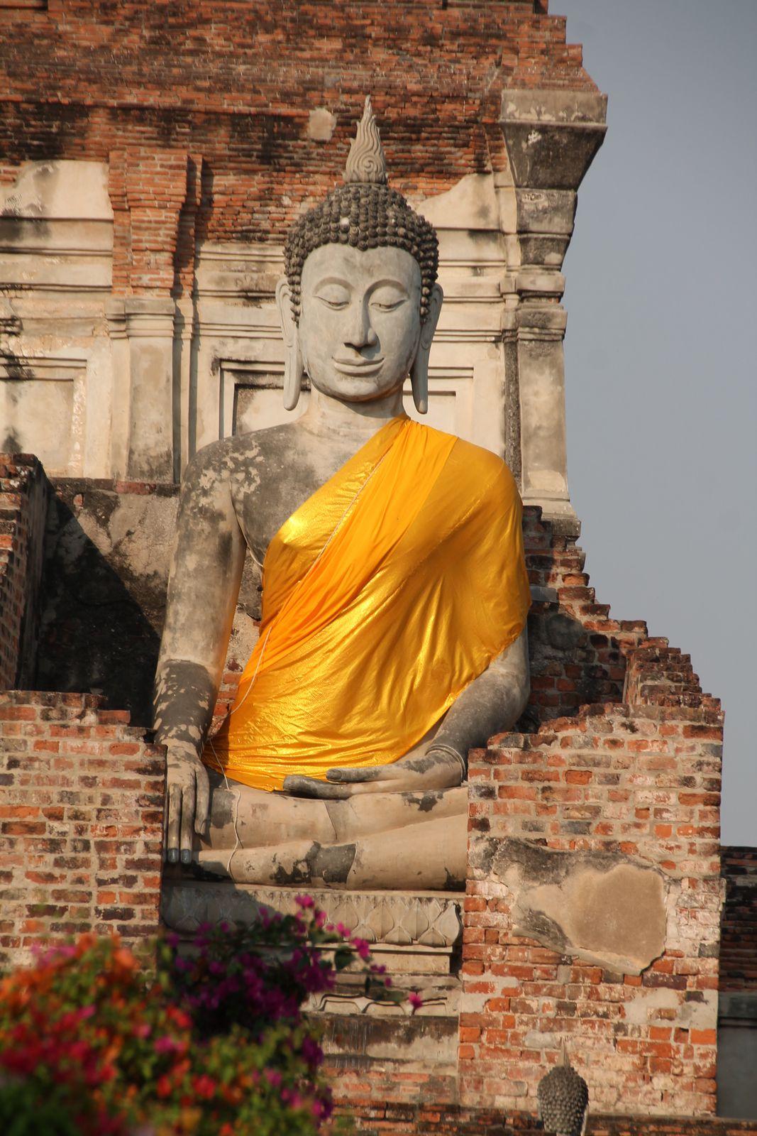 Curry thaï jaune au saumon et crevettes - balade thaïlandaise (3) Ayutthaya