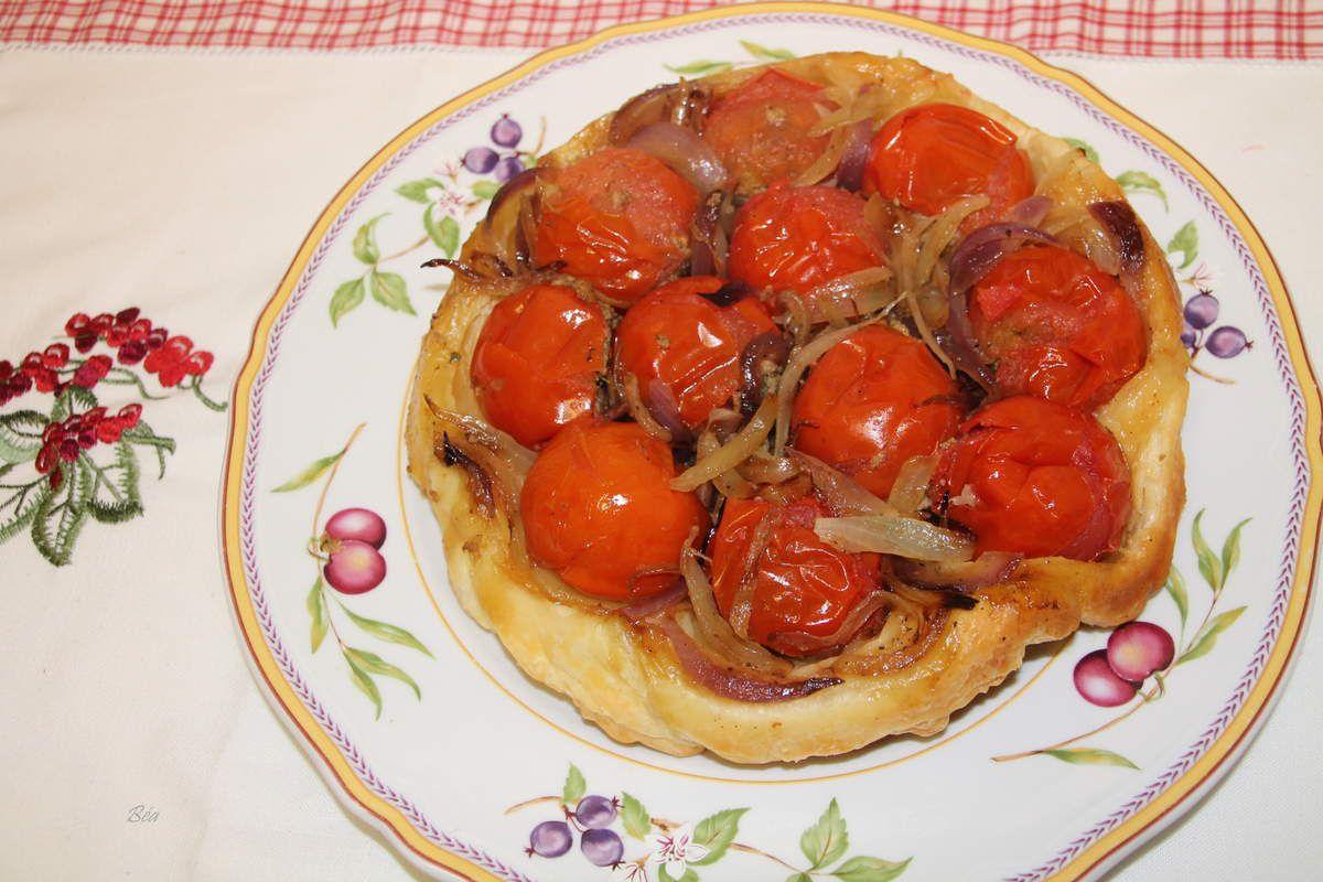 Variation autour d'une boite de thon et de quelques tomates
