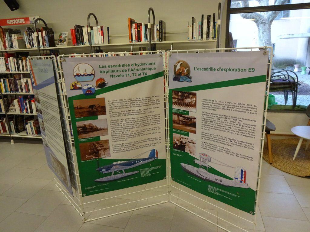 Exposition à la médiathèque de Velaux