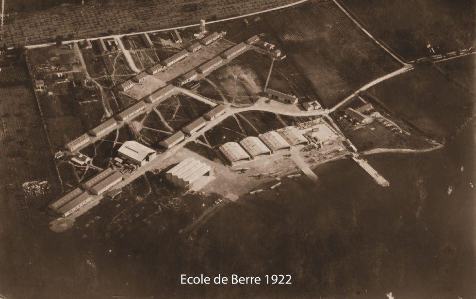 Exposition à Berre l'Etang sur l'histoire de la BAN