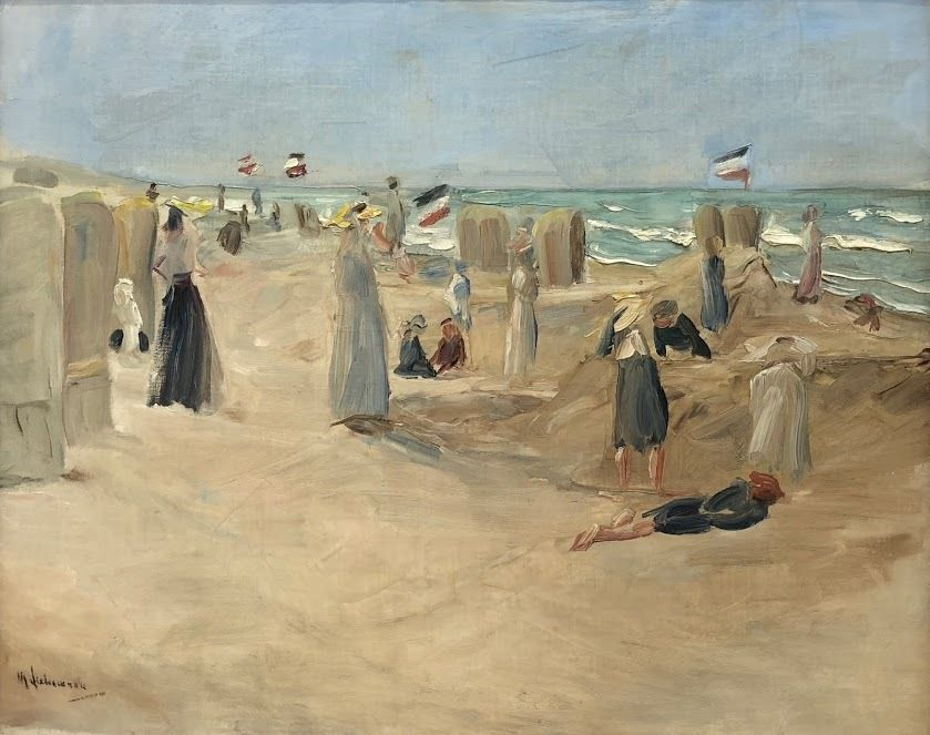 "Musée Mauritshuis: exposition temporaire Max Libermann ""Plage à Noordwijk"""