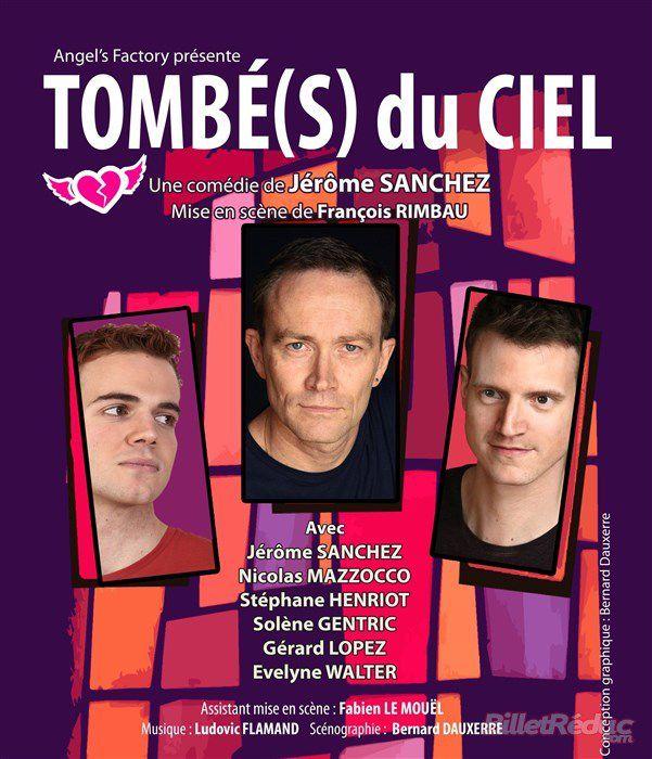 « Tombé(s) Du Ciel » au Théâtre Clavel, nous y étions !