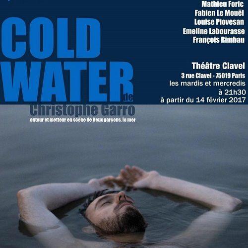 « Cold Water » au Théâtre Clavel, nous y étions !