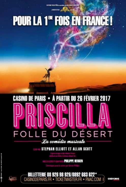 « Priscilla Folle Du Désert » au Casino de Paris, nous y étions !