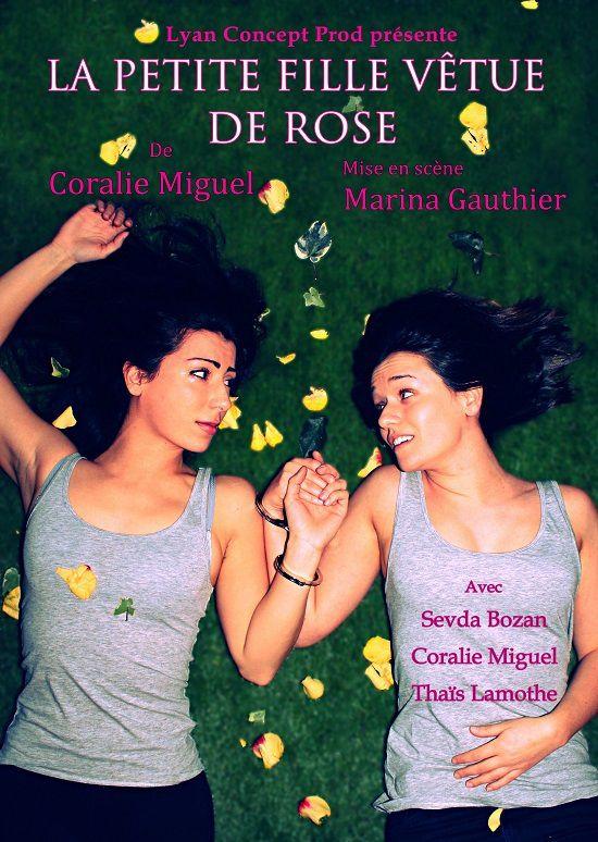 Coralie Miguel vous présente « La Petite Fille Vêtue De Rose » !