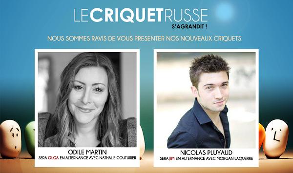 « Le Criquet Russe » au Théâtre Les Feux De La Rampe, nous y sommes retournés !